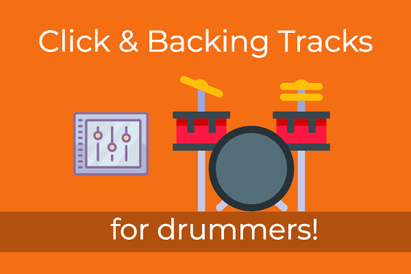 Click and backing tracks for drummers
