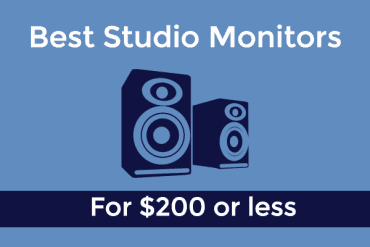 Best Studio Monitors under $200: HUGE sound for little prices!