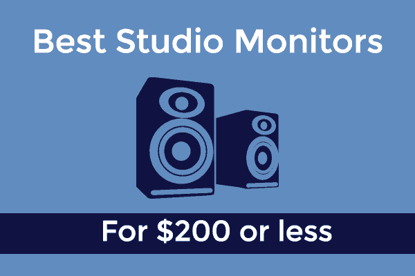 Best Studio Monitors under $200