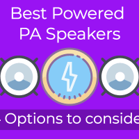 Best Powered PA Speakers
